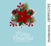 christmas party invitation... | Shutterstock .eps vector #1809911743