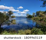 Summer Landscape  View Of The...
