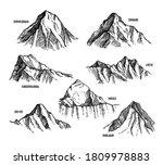Himalaya Mountains Set....
