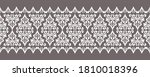 seamless vector border design... | Shutterstock .eps vector #1810018396