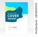 vector abstract design cover... | Shutterstock .eps vector #1810020319