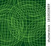 abstract world green line... | Shutterstock .eps vector #1810020859