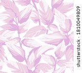 seamless floral pattern with... | Shutterstock .eps vector #1810049809