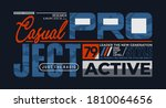 active project  modern and... | Shutterstock .eps vector #1810064656