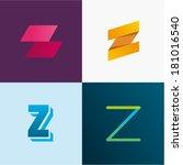 letter z | Shutterstock .eps vector #181016540
