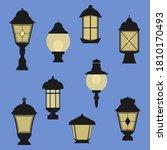 Set Of Lantern Illustration....