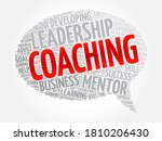 Coaching Message Bubble Word...