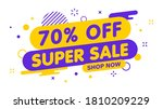 sale banner  special offer and... | Shutterstock .eps vector #1810209229