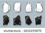 abstract polygonal geometric... | Shutterstock .eps vector #1810255870