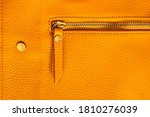 Natural Leather Texture. Macro...