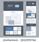 website landing page design for ...