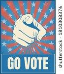 american presidential election... | Shutterstock .eps vector #1810308376