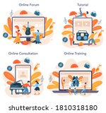 dance teacher or choreographer... | Shutterstock .eps vector #1810318180