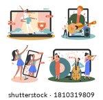 Online Concert Set. Musician O...