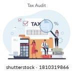 tax consultant concept. idea of ... | Shutterstock .eps vector #1810319866