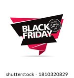 black friday sale poster layout ... | Shutterstock .eps vector #1810320829