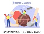 physical education or school... | Shutterstock .eps vector #1810321600
