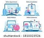 neurologist online service or... | Shutterstock .eps vector #1810323526