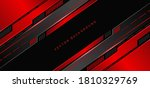 abstract technology geometric... | Shutterstock .eps vector #1810329769