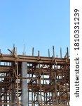 Small photo of structured vim concrete while construction field progress