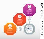 vector infographic of...   Shutterstock .eps vector #1810357660