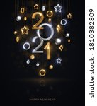 christmas and new year banner...   Shutterstock .eps vector #1810382809