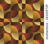 art abstract ornate geometric... | Shutterstock . vector #181039739