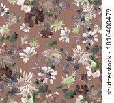 beautiful garden and wild... | Shutterstock . vector #1810400479