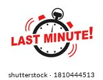 last minute offer watch... | Shutterstock .eps vector #1810444513
