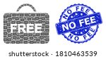 No Fee Unclean Round Stamp And...