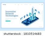 5g network technologies... | Shutterstock .eps vector #1810514683
