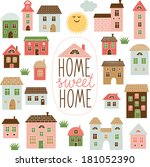 Home Sweet Home illustration