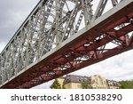 metal section of the railway... | Shutterstock . vector #1810538290