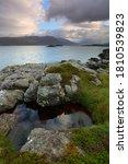 Scenic View Of A Loch Carron...