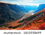 Chulyshman River Gorge And View ...