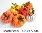 Crochet Pumpkins Red  Yellow ...