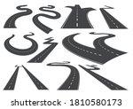 bending roads  high ways or... | Shutterstock .eps vector #1810580173