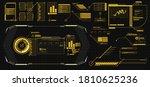 modern illustration for game... | Shutterstock .eps vector #1810625236