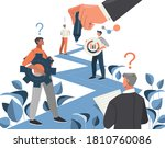 business line or development... | Shutterstock .eps vector #1810760086