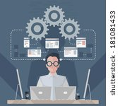 software engineer | Shutterstock .eps vector #181081433