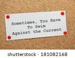 Постер, плакат: The phrase Sometimes You