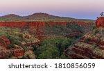 Knox Lookout, Karijini National Park, Western Australia.