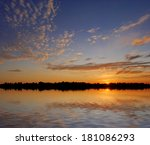 Scenic Landscape With Water On...