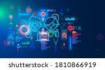 electronics engineering and... | Shutterstock . vector #1810866919