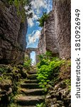 Ancient Rock Church From The...