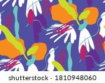 abstract retro geometric shapes ... | Shutterstock .eps vector #1810948060
