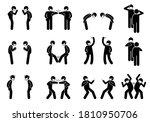 greetings alternatives during... | Shutterstock .eps vector #1810950706