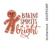 Baking Spirits Bright   Hand...