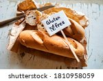 whole and sliced bread   loaf ...   Shutterstock . vector #1810958059