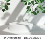 3d rendering scene podium...   Shutterstock . vector #1810960339